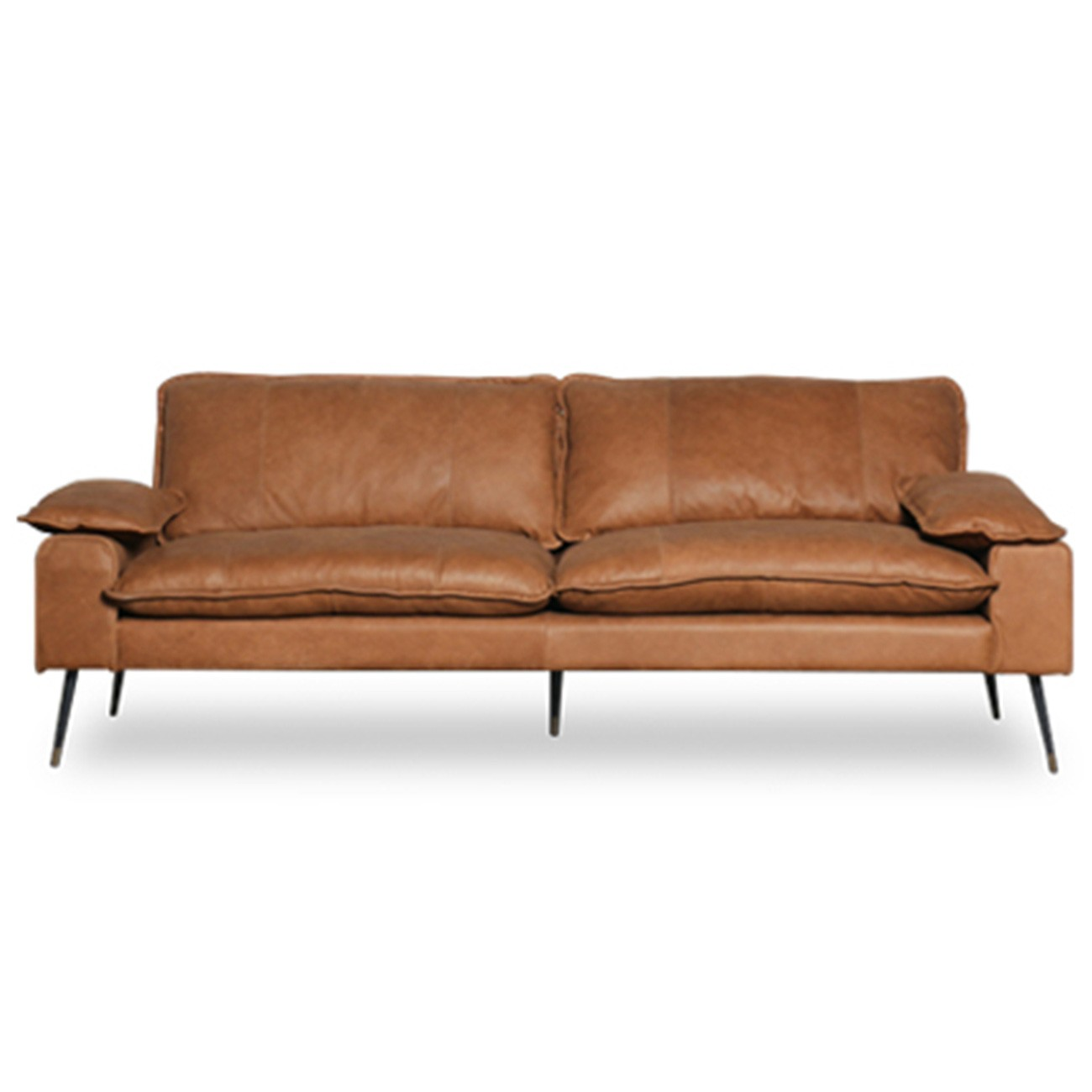 Marly Leather Sofa, 3 Seater
