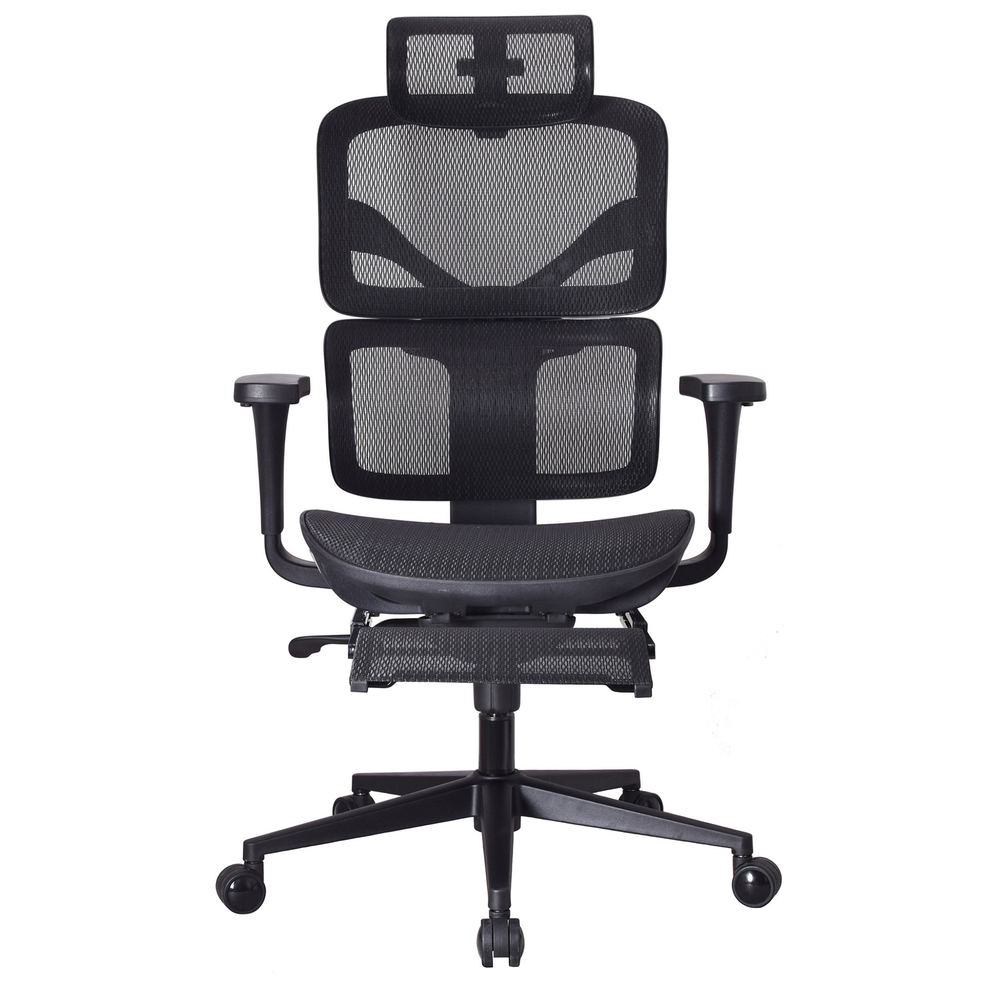 Killerby Mesh Fabric Ergonomic Executive Office Chair with Telescopic Footrest