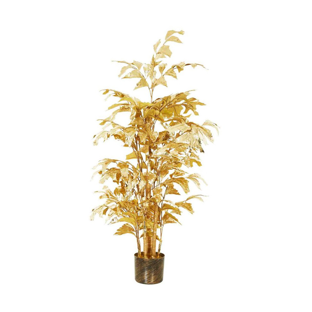 Golden Palace Potted Artificial Fish Tail Palm, 134cm